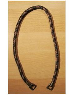 Anse de sac - 70 cm - beige et brun foncé