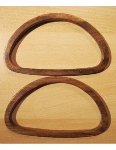 Anses de sac en bois - 19 x 11.5 cm