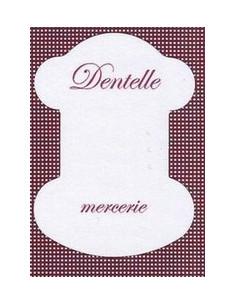 Cartonnette - Dentelle