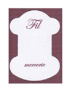 Cartonnette - Fil