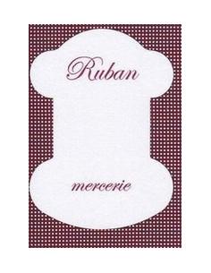 Cartonnette - Ruban