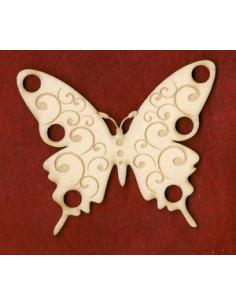 Tri-fils en bois - Papillon 2
