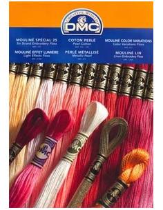 Carte des couleurs DMC - AVEC FILS