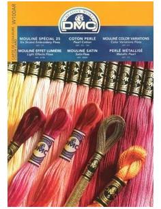 Carte des couleurs DMC - IMPRIMEE