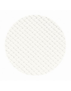 Toile Zweigart Stern-Aïda coloris 101 - Blanc cassé