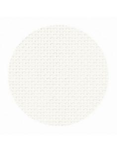 Toile Zweigart Fein-Aïda coloris 101 - Blanc cassé