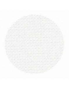Toile Zweigart Aïda extra fine coloris 101 - Blanc cassé