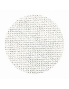 Toile Zweigart Lugana coloris 7139 - Marbré gris clair