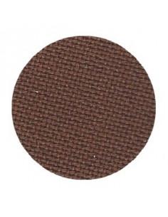 Toile Zweigart Lugana coloris 9024 - Chocolat