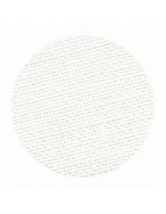 Toile de lin Zweigart Belfast coloris 101 - Blanc cassé