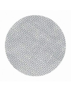 Toile de lin Zweigart Belfast coloris 7729 - Marbré gris