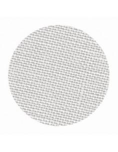 Toile de lin Zweigart Belfast coloris 786 - Gris clair