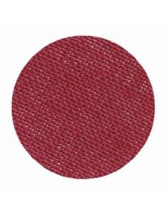 Toile de lin Zweigart Belfast coloris 9060 - Bordeaux