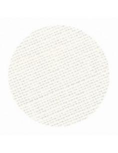 Toile de lin Zweigart Cashel coloris 101 - Blanc cassé