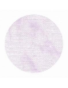 Toile de lin Zweigart Cashel coloris 5059 - Marbré lavande