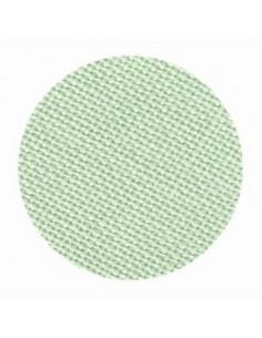 Toile de lin Zweigart Cashel coloris 633 - Vert menthe