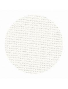 Toile de lin Zweigart Cork coloris 101 - Blanc cassé