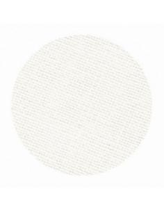 Toile de lin Zweigart Newcastle coloris 101 - Blanc cassé