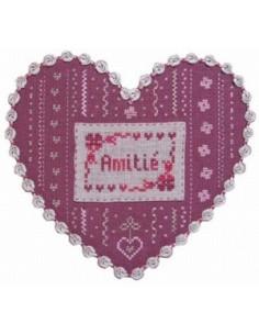 l Atelier Broderie d Angélina - Coeur Amitié