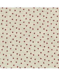 Tissu - Lin imprimé La Couture - 15-254