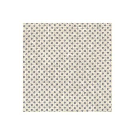 Tissus - Lin imprimé pour couture et patchwork
