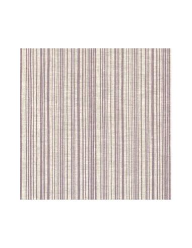 tissu lin imprim madame bijoux parme 15 274 broderie passion. Black Bedroom Furniture Sets. Home Design Ideas