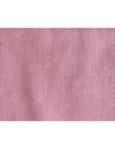 Coupon de tissu coton - uni - rouge