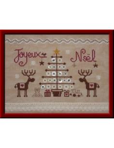 Jardin Privé - Joyeux Noël aux Rennes