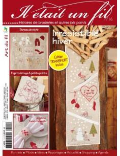 Magazine - Il était un fil n°16 - Irrésistible hiver