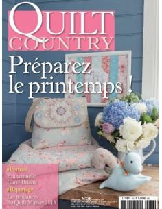 Magazine - Quilt Country n°36 - Préparez le printemps !
