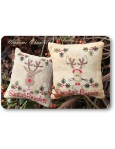 Madame Chantilly - Santa's Reindeer & Bunnie