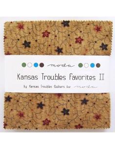 Assortiment de tissus - Kansas Troubles Favorites II de Moda