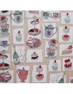 Tissu Patchwork - Supports à gâteaux
