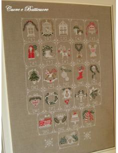 Cuore e Batticuore - Shabby Advent Calendar (Calendrier de l'Avent)