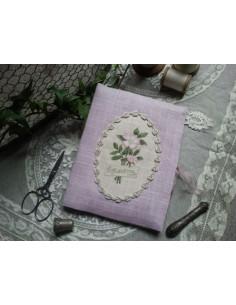 Le Lin d'Isabelle - Porte Ciseaux au bouquet d'églantine