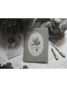 Le Lin d'Isabelle - Carnet au bouquet de muguet