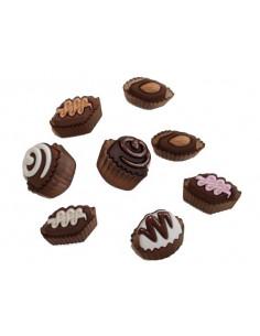 Lot de boutons Dress It Up - Rinskes Chocolates