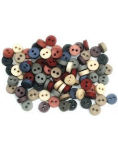 Lot de boutons Dress It Up - Tiny Country Buttons