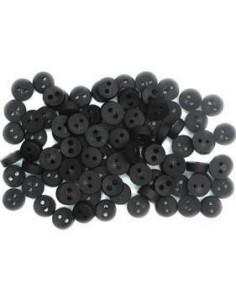 Lot de boutons Dress It Up - Tiny Black Buttons
