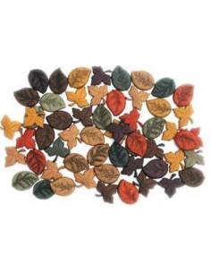 Lot de boutons Dress It Up - Tiny Leaves