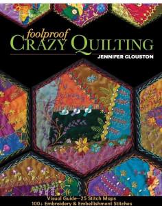Livre - Foolproof Crazy Quilting