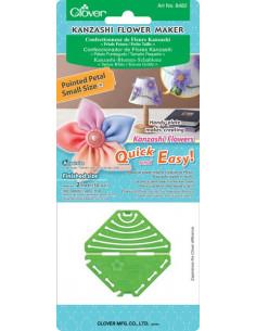 Clover - Confectionneur de Fleurs Kanzashi - Pétale pointu - 50 mm (Petit)