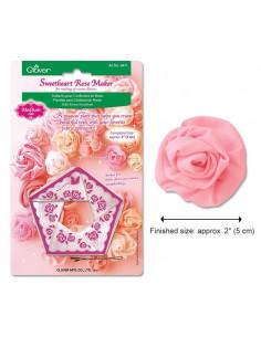 Clover - Gabarits pour confection de Roses - 50 mm (Moyen)