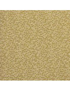 Tissu Patchwork - Petits ronds - brun clair (moutarde)