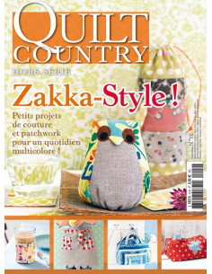 Magazine - Quilt Country hors-série n°19 - Zakka-Style !