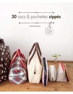 Livre - 30 sacs & pochettes zippés