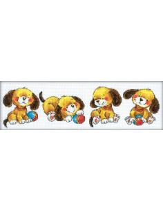 Kit RTO - Playing puppies (chiots)
