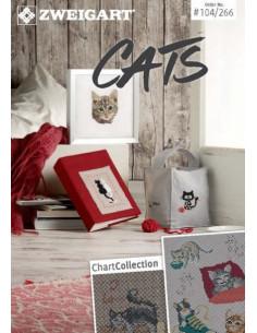Brochure Zweigart - Cats (chats)