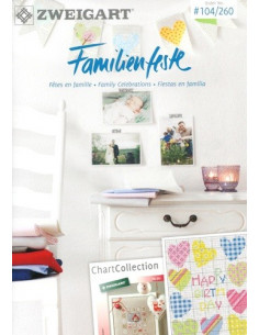 Brochure Zweigart - Familienfeste (Fêtes en famille)