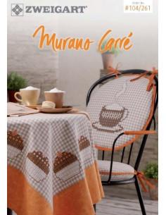 Brochure Zweigart - Murano Carré (Hardanger et broderie suisse)